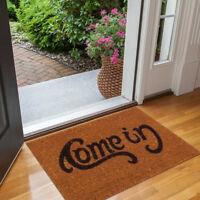 Non-slip Doormat Welcome Home Entrance Floor Rug Outdoor Mat Letter Home Decor