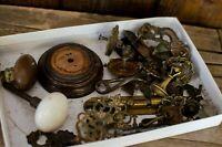 Antique Vintage Hardware Lot Retro Unique Handles, knobs, glass knobs doorknobs