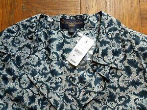 NWT - LIBERTY of LONDON Brooks Brothers Shirt Top Tunic!