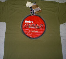 Vintage military green Airwalk skateboard Jason Lee era short sleeve t-shirt 2Xl