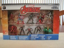 2017 JADA TOYS MARVEL AVENGERS NANO METALFIGS 10 PACK COLLECTOR'S SET--DIECAST
