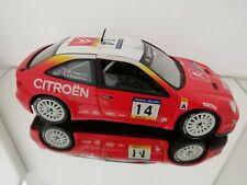 SOLIDO CITROEN XSARA WRC RALLY CATALUNYA 2001 BUGALSKI 1:18