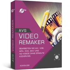 AVS Video ReMaker 6.0 deutsche Vollversion lifetime Download 34,99 statt 58,99