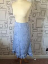 Cotton Blend Tailored Vintage Skirts for Women