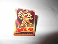 1997 BREEDERS CUP AT HOLLYWOOD PARK OFFICIAL METAL LAPEL PIN-BRAND NEW!