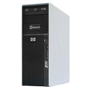 HP Z400 Xeon X5670 24GB ram 256GB SSD 500GB HDD Office-Grafikkarte Win10