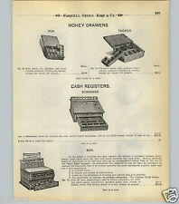 1904 PAPER AD Sun Brand Cash Register No Springs