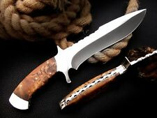 CUSTOM MADE, 440 C ,OUTDOOR JUNGLE HUNTING SURVIVAL FIGHTING CLAW BOWIE  KNIFE