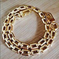 Replacement 10mm Metal Chain Strap for Shoulder Bag Handbag Gold Fashion 110cm