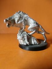 (Q902)LORD OF THE RINGS WARG CHIEFTAIN METAL