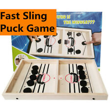 Fast Sling Puck Game Paced  Winner Table Hockey Toys Juego Indoors Family Game