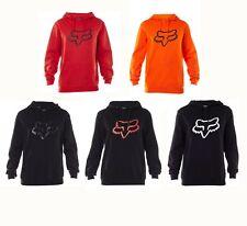 Fox Racing Gents Legacy Foxhead Pullover Hoodie Sports Sweatshirt Jumper S-XXL