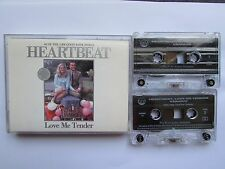 HEARTBEAT-LOVE ME TENDER 2 X CASSETTE SET, VARIOUS, TESTED.