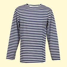 Matrosenhemd für Winter  Gr.56 100% Baumwolle Shirt Russisches Marine Тельняшка