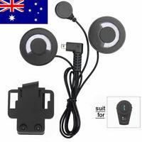 Headphone helmet speaker bluetooth intercom motorcycle bt interphone headset NEW