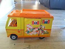 Vintage 1970 Mattel Barbie Camper Rv Van