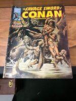 1978 THE SAVAGE SWORD OF CONAN THE BARBARIAN NO. 32 COMIC BOOK MAGAZINE