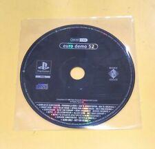 Euro Demo 52 Playstation DEMO PS1 VERSIONE ITALIANA