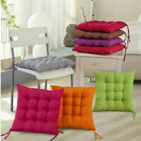 Tie On Chair Cushion Seat Pads Dining Room Kitchen Office Soft Patio Pillow Pad&