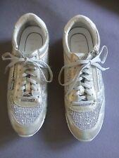 Marco Tozzi Damen Sneaker, Gr. 41, silber