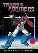 TRANSFORMERS - The Complete Animated Cartoon Series Season 1-4 (1 2 3 4) DVD NEW