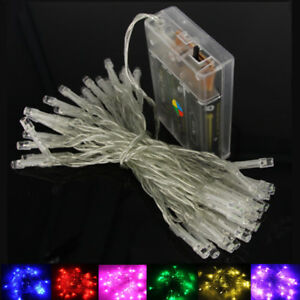 10M 100LED String Lights 3*AA Battery Operated Waterproof Fairy LED Christmas