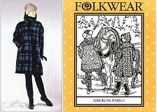 Folkwear Siberian Parka Sewing Pattern 153 Pullover, Roomy & Easy to Sew XS-XL