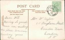 William Taylor. 55 Bayham Street, Camden Town, London 1908 - 'Vic'   L1881