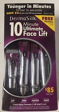 DermaSilk 10 Minute Ultimate Face Lift, 5 Anti-Aging Formulas + Flawless Trial