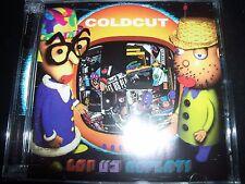 Coldcut – Let Us Replay! (Australia) CD + CD ROM – Like New