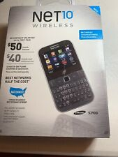 Samsung S390G Bluetooth Wi-Fi Qwerty Speaker Net10 Cell Phone New!