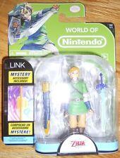 """Legend of Zelda LINK FIGURE 4"""" Jakks Pacific Skyward Sword World of Nintendo 1-1"""