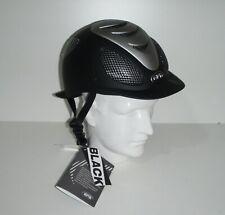 GPA Speed Air  Reiterhelm Helm Größe  53 schwarz -  Ausstellungsstück
