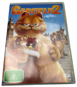 Garfield 2 DVD R4 G PAL 2006 free Postage
