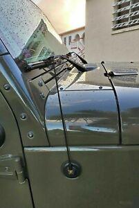"12"" Black Stainless Antenna Mast for JEEP WRANGLER 1987-2006 TJ 1987-1997-2006"