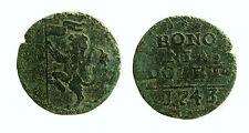 pcc1995_3) BOLOGNA Benedetto XVI 1740-1758 Quattrino 1743 da studio