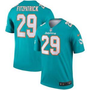 💯% Genuine Minkah Fitzpatrick Miami Dolphins Nike Legend Jersey XLarge - Aqua