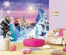 EISKÖNIGIN Kinder Fototapete €5,47/m2 Tapete Elsa Anna Zimmer Poster Foto Frozen