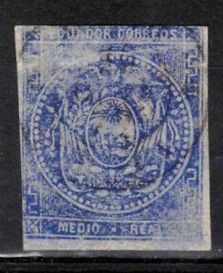 ECUADOR Scott 2 Used ## 1 cent start ##
