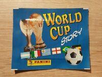 Panini World Cup Story 1 Tüte Bustina Pochette Sobre Pack Packet Maradona Pele