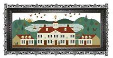 Mount Vernon Willow Hill Samplings Cross Stitch Pattern