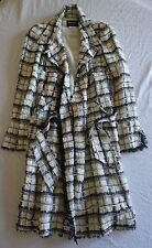 ~$6.8K AUTHENTIC CHANEL TWEED BOUCLE BELTED COAT JACKET (SOOO GORGEOUS!) ~ 40