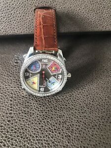 Jacob And Co Mother Of Peatl 5 Zone Diamond Watch