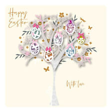 Happy Easter With Love Luxury Handmade 3D Card By Talking Pictures