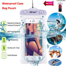 Waterproof Floating Pouch Dry Bag Case Cover Clear Fr iPhone X 7 8 Plus Samsung