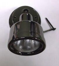 6 BBT 12 volt Chrome/Gunmetal Halogen Reading Lamp/Berth Light for RVs