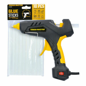 TOUGH MASTER Hobby Crafts DIY 60W Adhesive Hot Melt Glue Gun Plus 12 Sticks
