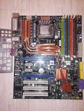 MSI X48C Platinum MS-7353 ATX Motherboard Socket 775 PCI LAN eSATA 2x DDR2 4x DD