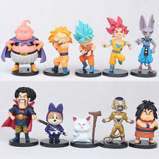 Dragon Ball Z Super Saiyan Son Goku Kame Sennin 10 PCS Anime Action Figure Toy