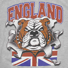 England Bulldog T-Shirt Medium Union Jack Flag Great Britain United Kingdom UK
